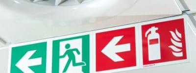 esempio di cartello emergenze