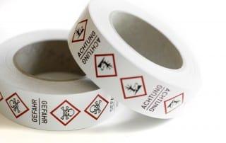 Simboli GHS per tubazioni